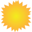 Sun weather Icon
