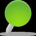 Pin green-128