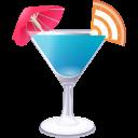 RSS blue cocktail