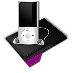 My Music Mp3 Purple