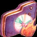 Burn Violet Folder-128