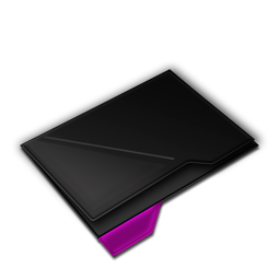 Empty Folder Purple-256