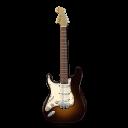 Stratocastor Guitar Orange-128