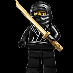 Lego Ninja Black 2