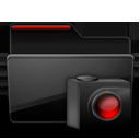 Folder Cameras black red-128