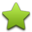 Favoritesalt green icon