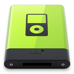 HDD Green iPod
