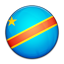 Flag of Democratic Republic of the Congo icon