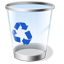 Glass Trash icon