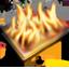 Burn Black Icon