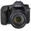Canon 7D front up icon