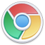 Chrome Lite round icon