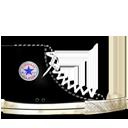 Converse Black dirty-128