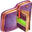 Notebook Violet Folder icon