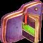 Notebook Violet Folder Icon