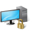 Workstation locked icon