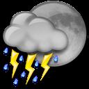 Night Thunderstorms