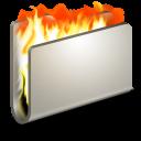Burn Metal Folder-128