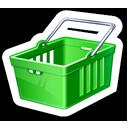 Green Shopping Cart-128