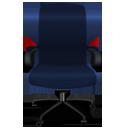 Blue Office Chair-128