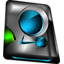 Monitor blue Icon