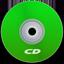 CD Green Icon