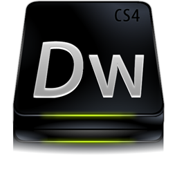 Adobe Dreamweaver CS4 Black