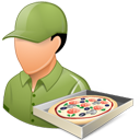 Pizzadeliveryman Male Light-128