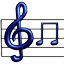 Musical notation Icon