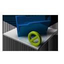 Blue Folder Inactive-128