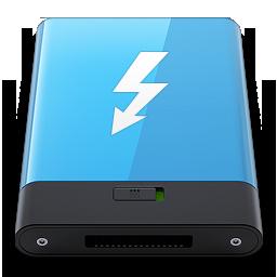HDD Blue Thunderbolt W