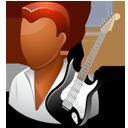 Guitarist Male Dark-128